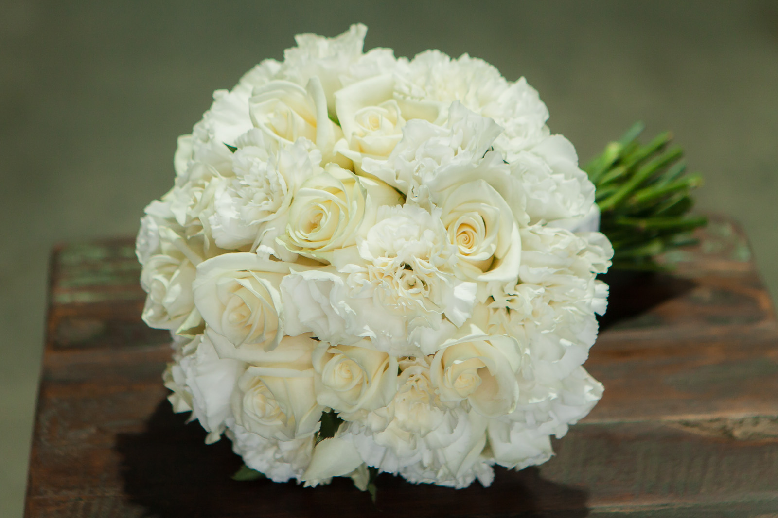 carnation wedding bouquet white wedding flowers melbourne earth flowers 2461