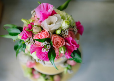 Wedding Cake Flowers by Red Earth Florist in Kilsyth