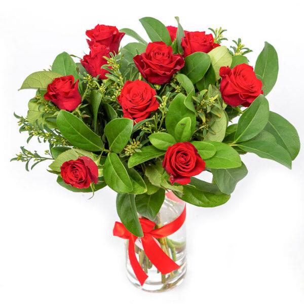 Rose Bouquet in a Bottle from Kilsyth Florist, best flower shop