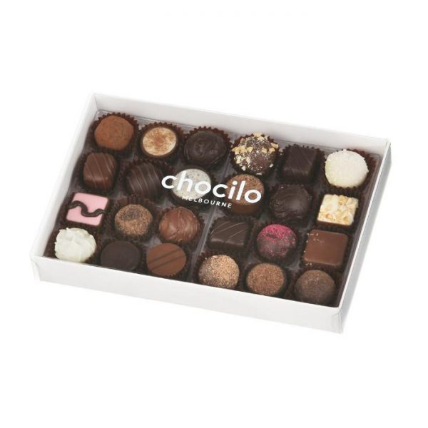 Chocilo 24 Pack Chocolate Assortment from Red Earth Flowers
