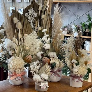 Red Earth Florist Dried Flower Arrangements All sizes